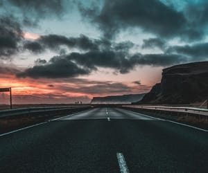 beautiful, road, and sky image