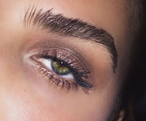 beauty, eye makeup, and eyes image
