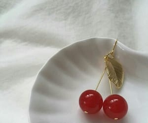 cherry, aesthetic, and red image