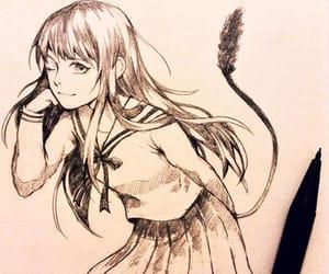 animal, anime, and anime girl image
