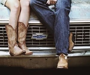 love, boots, and country image