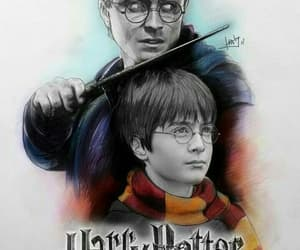 art, harry potter, and drawing image