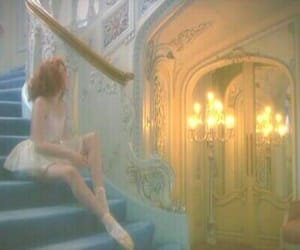 ballerina, ballet, and candle image