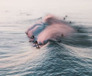 summer, surfing, and water image