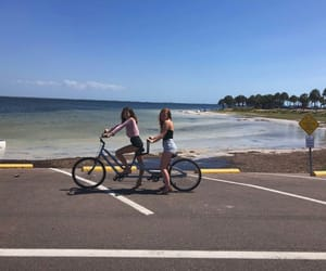 beach, florida, and summer image