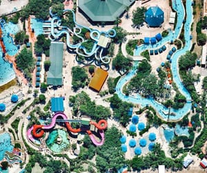 aerial photography, overview, and parks image