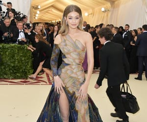 gigi hadid, met gala, and model image