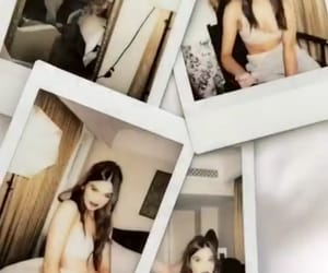 hair, polaroids, and Queen image