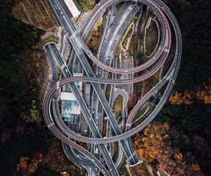 aerial photography, japan, and drone photography image