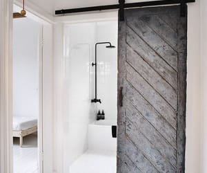 bathroom, clean, and white image