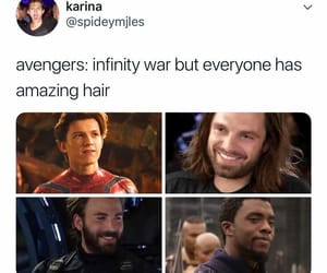 black panther, lol, and sebastian stan image