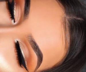 eyes, make up, and woman image