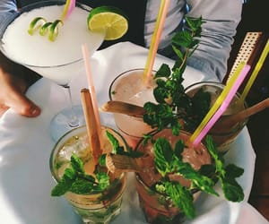 drinks and food image