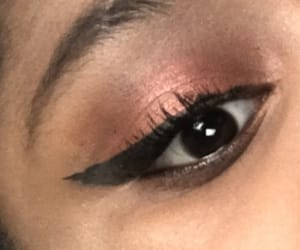 cranberry, halo, and lashes image