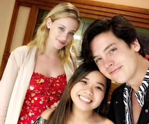fan, cole sprouse, and lili reinhart image