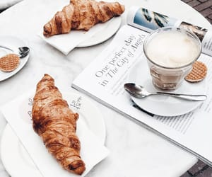 coffee and croissant image