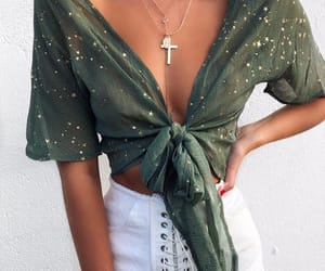 fashion, goals, and green top image