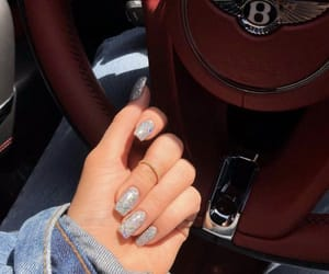 nails, car, and Bentley image