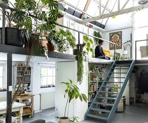 home, light, and loft image