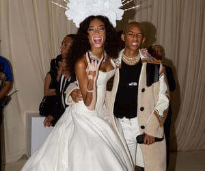 winnie harlow, model, and jaden smith image