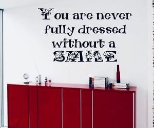 dress, quote, and smile image