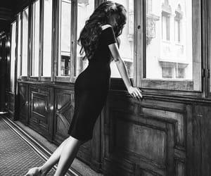 black and white and camila cabello image