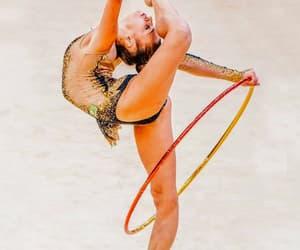hoop, rhytmic gymnastic, and soldatova image