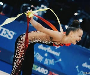 ribbon, world champion, and dina averina image