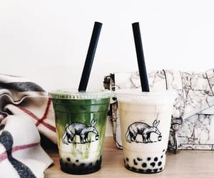 aesthetic, boba, and pretty image
