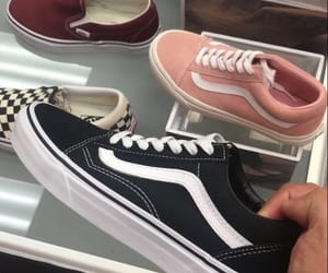 vans, fashion, and sneakers image