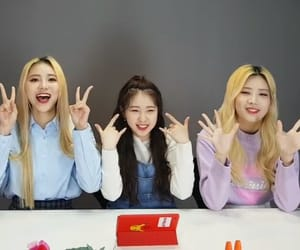 yeojin, kim lip, and loona image