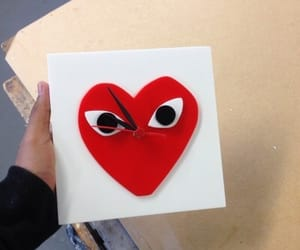 art, comme des garcons, and inspire image
