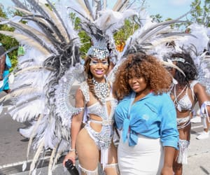 bahamas, costume, and curly image