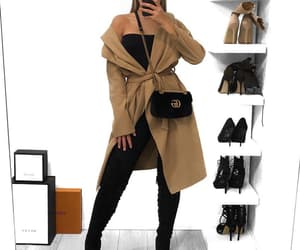 beauty, clothes, and coat image