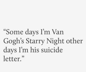 quotes, sad, and van gogh image
