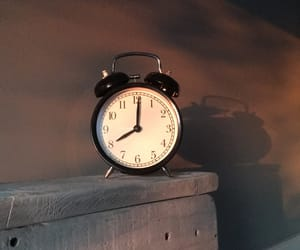 clock, fuck, and tired image