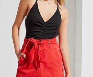 red skirt image