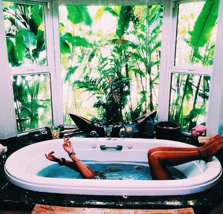 aesthetic, travel, and tub image
