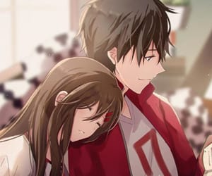 anime, anime couple, and kagerou project image