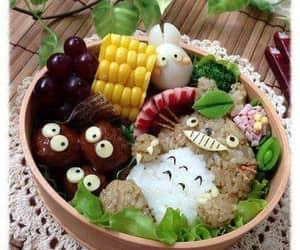 totoro, bento, and food image