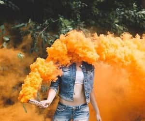 art, photography, and smoke bomb image