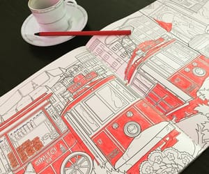istanbul, turkish coffee, and red image