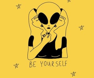 aesthetic, art, and be yourself image