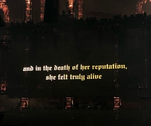 quote, Reputation, and Taylor Swift image