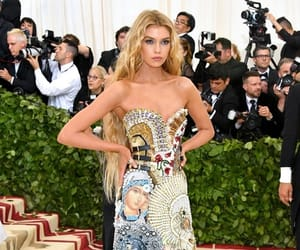 met gala, dress, and stella maxwell image