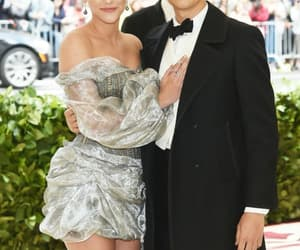 cole sprouse, lili reinhart, and met gala image