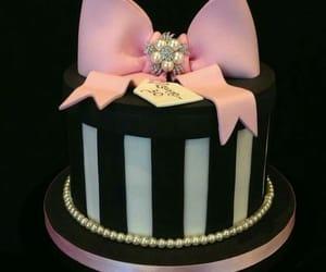 birthday cake, birthday girl, and black image
