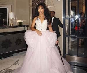 sza and met gala image