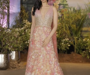 wedding reception, mumbai., and khushi kapoor image
