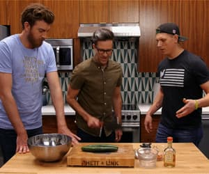 rhett and link, link neal, and rhett mclaughlin image